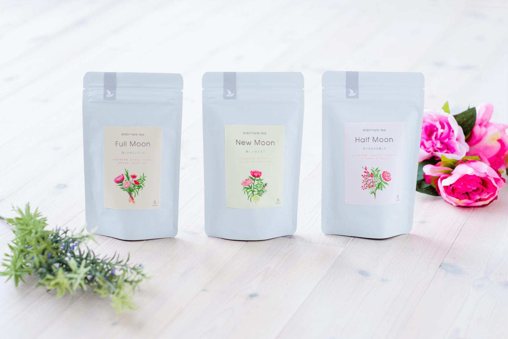 WWH herb tea Full Moon / New Moon / Half Moon
