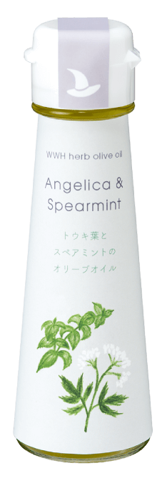 WWH herb olive oil Angelica & Spearmint