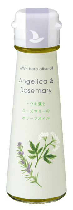 WWH herb olive oil Angelica & Rosemary