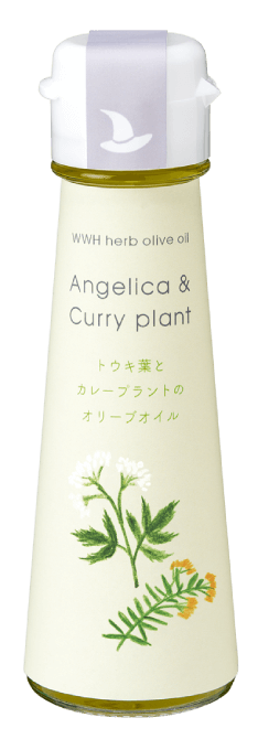 WWH herb olive oil Angelica & Curry plant